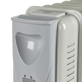 Prolectrix EH0564SPROSTK Portable 7 Fin Oil-Filled Radiator, 1500 W, White Thumbnail 11