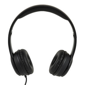 Intempo EE3778BLKSILSTKUK Folding Clarity Headphones, Black Thumbnail 2