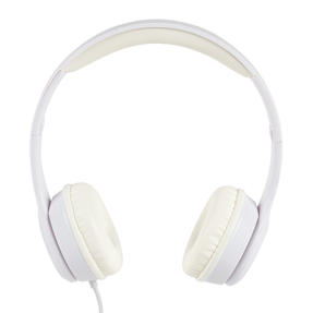 Intempo EE3778WHTGLDSTKUK Folding Clarity Headphones, White Thumbnail 1