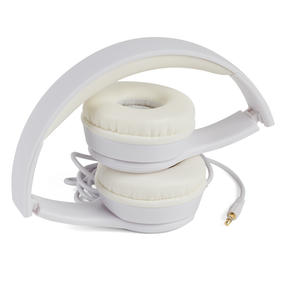 Intempo EE3778WHTGLDSTKUK Folding Clarity Headphones, White Thumbnail 2