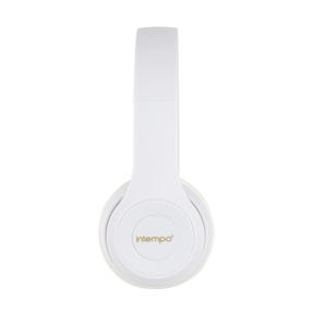 Intempo EE3778WHTGLDSTKUK Folding Clarity Headphones, White Thumbnail 3