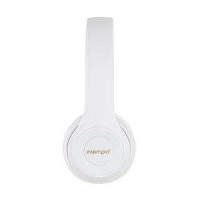 Intempo EE3778WHTGLDSTKUK Clarity Folding Headphones with Adjustable Headband, 3.5 mm Stereo Jack, 1.3 m Cable Length Thumbnail 4