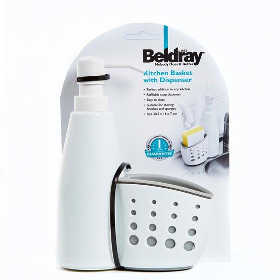 Kitchen Basket with Soap Pump Dispenser, Set of 3 Thumbnail 4