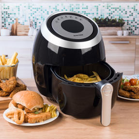 Salter COMBO-4949 XL Digital Hot Air Fryer with 3 in 1 Prep Cutter, 1500 W, 4.5 L Thumbnail 2
