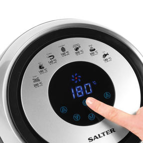 Salter COMBO-4949 XL Digital Hot Air Fryer with 3 in 1 Prep Cutter, 1500 W, 4.5 L Thumbnail 6