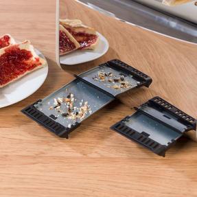 Salter COMBO-3845 Naturals 4-Slice Toaster & 1.8 L Pyramid Kettle, Stone Thumbnail 7