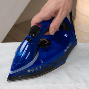 Beldray BEL0929 2000 W Steam Iron with Variable Temperature Control, Blue Thumbnail 7