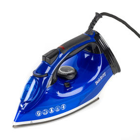 Beldray BEL0930 2200W Steam Iron with 320 ml water tank, Blue