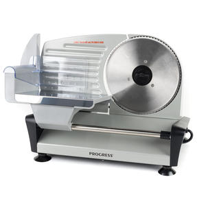 Progress Electric Food Slicer, Stainless Steel, 150 W