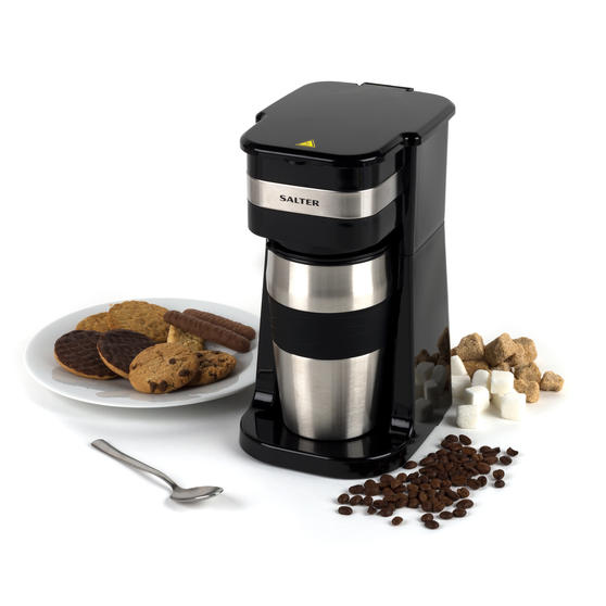 Salter EK2732 Digital Coffee Maker to Go, 420 ml