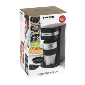 Salter Digital Coffee Maker to Go, 420 ml Thumbnail 9