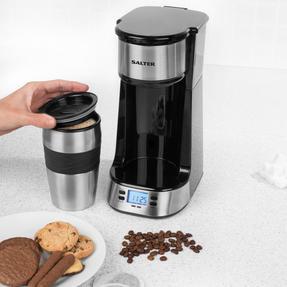 Salter EK2732 Digital Coffee Maker to Go, 420 ml Thumbnail 2