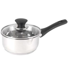 Salter BW07226AS 16 cm Simple Strain Saucepan, Stainless Steel