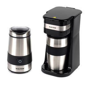 Salter COMBO-4773 Digital Coffee Maker to Go and Coffee & Spice Grinder Thumbnail 1