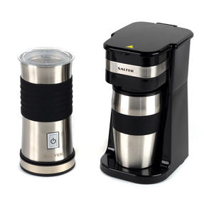 Salter COMBO-4774 Digital Coffee Maker to Go and Milk Frother Thumbnail 1
