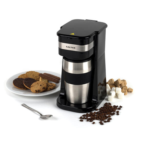 Salter COMBO-4775 Digital Coffee Maker to Go, Coffee ...