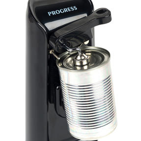 Progress EK3589P 3-in-1 Hands Free Electric Tin Can Opener, Knife Sharpener and Bottle Opener, 80 W Thumbnail 3