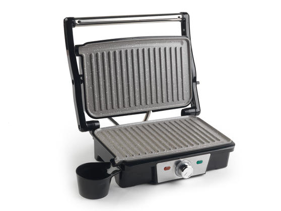 Salter EK2132N Marble Collection Health and Panini Grill, Grey