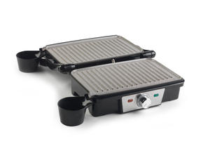 Salter EK2132N Marble Collection Health and Panini Grill, Grey Thumbnail 2