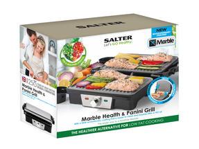 SALTER 180 HEALTH GRILL AND PANINI MAKER Thumbnail 8