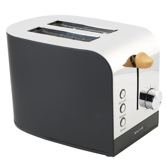 Skandi 2-Slice Toaster, Black