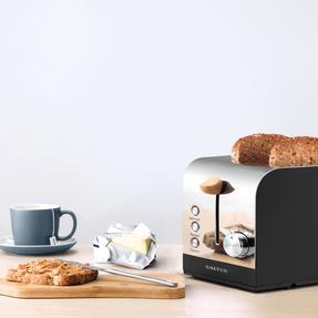 Salter EK3618BLACK Skandi 2-Slice Toaster, Black Thumbnail 4