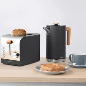 Salter EK3618BLACK Skandi 2-Slice Toaster, Black Thumbnail 6
