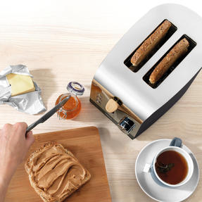 Salter EK3618BLACK Skandi 2-Slice Toaster, Black Thumbnail 8