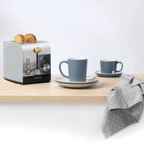 Salter EK3618GRY Skandi 2-Slice Toaster, Grey Thumbnail 4