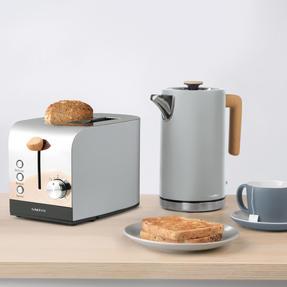 Salter EK3618GRY Skandi 2-Slice Toaster, Grey Thumbnail 6
