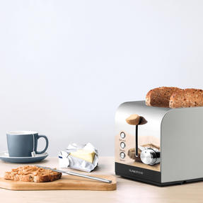 Salter EK3618GRY Skandi 2-Slice Toaster, Grey Thumbnail 7
