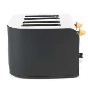 Salter EK3619BLACK Skandi 4-Slice Toaster, Black Thumbnail 2