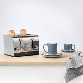 Skandi 4-Slice Toaster, Grey Thumbnail 4