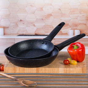 Russell Hobbs COMBO-4800 20cm Crystaltech Frypan & 24cm Crystaltech Frypan, Graphite Thumbnail 5
