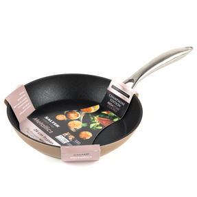 Salter BW07843C Forged Aluminium Metallic Non-Stick Frying Pan, 24 cm, Champagne, 10 Year Guarantee Thumbnail 5