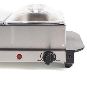 Progress EK3664P Portable Three Pan Food Warmer Buffet Server, 3 x 1.5 Litre Pans, Stainless Steel, 200 W Thumbnail 7