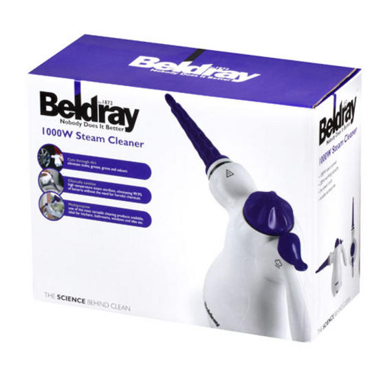 Beldray Handheld Steam Cleaner Review