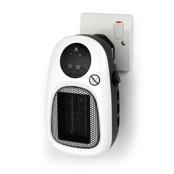 Beldray Handy Plug in Heater with Remote Control, 500 W