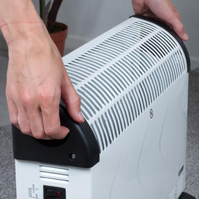 Prolectrix COMBO-5273 Electric Portable Convector Heater, 2000 W, White, Set of 2 Thumbnail 4