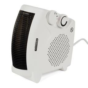 Prolectrix COMBO-5275 Portable Flat Fan Heater and Cooler, 2000 W, White, Set of 2 Thumbnail 4