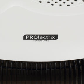 Prolectrix COMBO-5275 Portable Flat Fan Heater and Cooler, 2000 W, White, Set of 2 Thumbnail 7