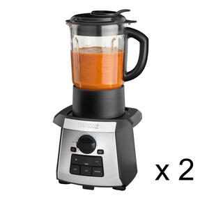 Waring COMBO-5245 All-in-One Soup Maker/Blender, 1.4 Litre, 1000 W, Set of 2