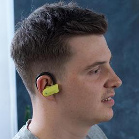 Intempo EE3888YELBLKSTKEUAIR Active TWS 10 Wireless Bluetooth Earphones, Yellow/Black Thumbnail 6