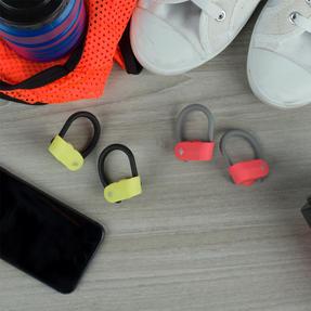 Intempo EE3888YELBLKSTKEUAIR Active TWS 10 Wireless Bluetooth Earphones, Yellow/Black Thumbnail 7