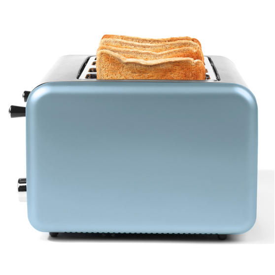 Salter EK3352BLUE Metallics Polaris 4-Slice Toaster, 1500 W, Pearl Blue Edition