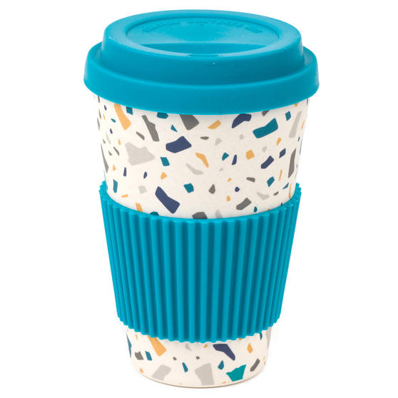 TEAL TERRAZZO 16OZ SIPPY CUP