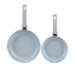 Russell Hobbs COMBO-5326 Stone Collection 5-Piece Frying Pan and Saucepan Set, 16/18/20/24 cm, Daybreak Thumbnail 8
