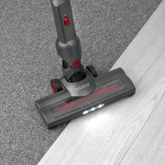Beldray® BEL0945 AIRGLIDE 2-in-1 Cordless Stick & Handheld Vacuum Cleaner, 22.2V Thumbnail 5