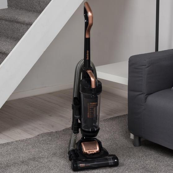 Turbo Swivel Vacuum Cleaner, Rose Gold Thumbnail 2