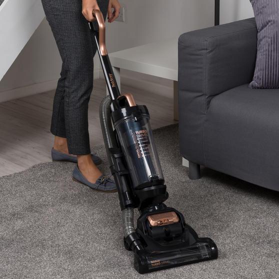 Turbo Swivel Vacuum Cleaner, Rose Gold Thumbnail 4